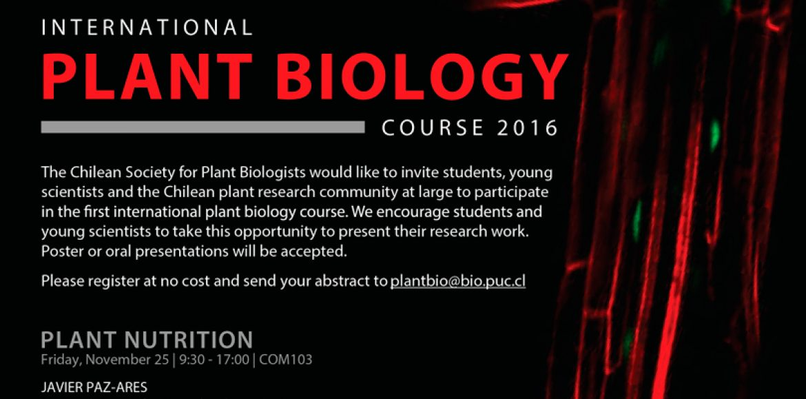 International Plant Biology Course 2016