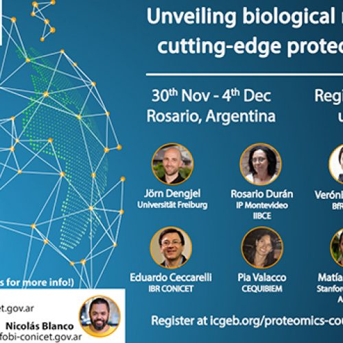 """IBR / ICGEB course """"Unveiling Biological Networks by Cutting-Edge Proteomics Tools"""""""